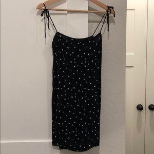 Star Print Shift Dress